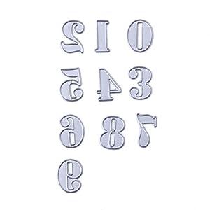 Demiawaking fustelle stencil per DIY scrapbooking album biglietti a sbalzo, quattro stili 04