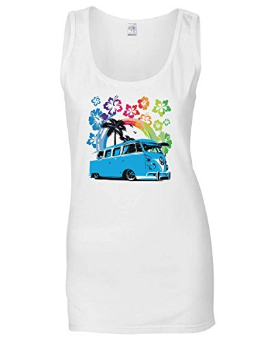 cotton-island-singlete-para-las-mujeres-tb0440-camionnette-hawaii-volkswagen-classique-talla-m