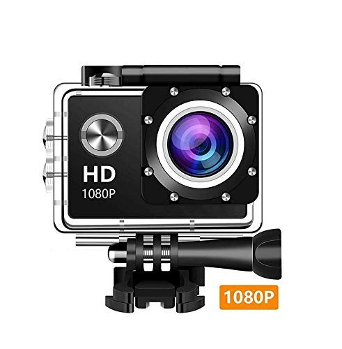 Teconica BX-5900 HD 1080P 2Inch LCD Action Camera with 900mAh Rechargeable Batteries, Support up to 32 GB SD Card , Multi Languages (Assorted Colour)