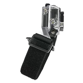 DURAGADGET Adjustable Wrist Strap Handle Mount Fastening for Aoleca 4K Ultra HD Wide Angle Sports Action Camera