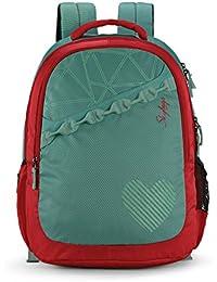 Skybags Bingo 31.878 Ltrs Green School Backpack (SBBIN02GRN)
