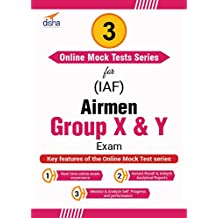 Disha Publication 3 Mock Tests Series for IAF Airmen Group X and Y Exam (Email Delivery in 2 Hours - No CD)