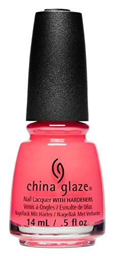 China Glaze Nail Lack mit hardeners, 14ml, ABBS0012Bad Set der Stimmung (Lack Olympic)
