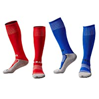 EQLEF® Cotton Light Quick-drying Football Socks For Boys 6-7 Years Old