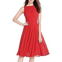size 40 f451c 50198 Suchergebnis auf Amazon.de für: rotes kleid knielang