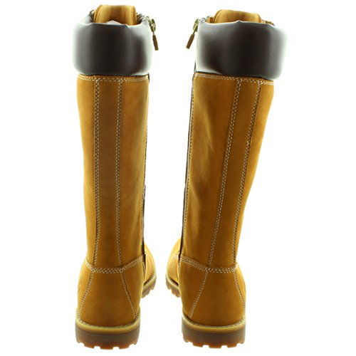 Timberland - Kids 14 Inch Premium Lace Knee Boots in Wheat  6 5 UK Youth