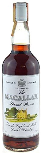 Rarität: The Macallan Whisky Special Reserve - Single Highland Malt Scotch Whisky