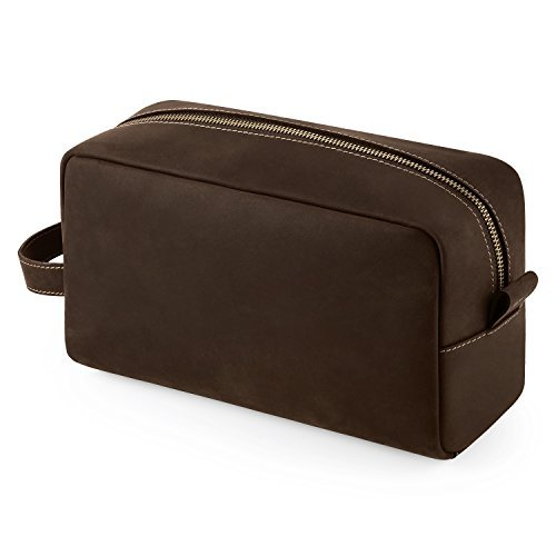 smriti-waterproof-leather-toiletry-bag-travel-dopp-kit-organizer-for-men-brown