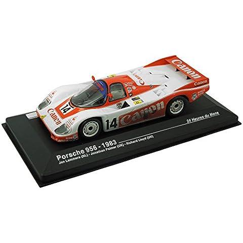 Modellauto Porsche 956 - 24-Stunden-Rennen von Le Mans 1983 (1:43) - weiß / rot