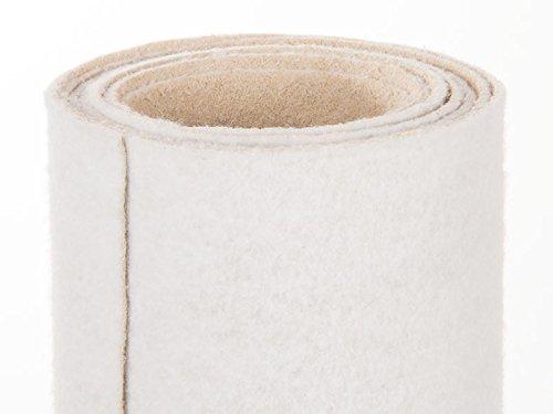 Weißer Teppich - Hochzeitsteppich - VIP Teppich - Eventtepich - Farbe Weiß - 2,00m x 10,00m (Teppich-läufer 2 X 10)