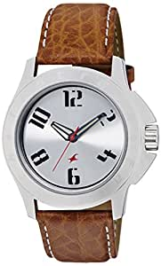 Fastrack His & Hers Upgrades Analog Silver Dial Unisex Watch -NK3075SL03