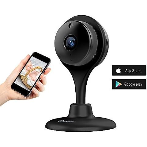 Vigilabebe 720p Hd Visión Nocturna Seguridad Cámara Inalámbrica Wi-Fi Misafes Bebé Monitor Mascotas Cam Remoto Inicio Guarda Con Audio De 2 Vías Para IOS Android iphone ipad Samsung Htc Lg Sony Google Nexus