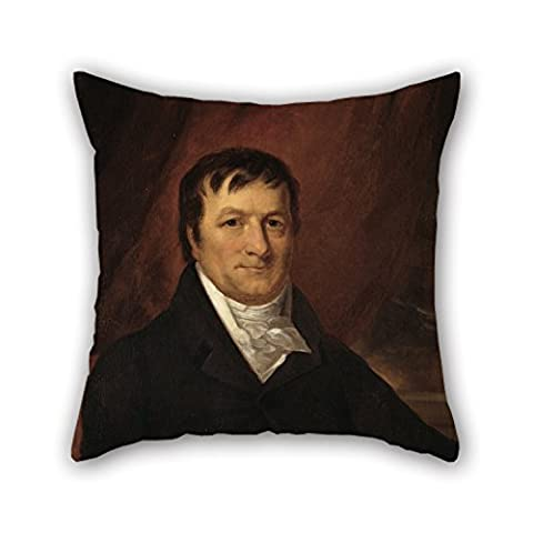 niceplw Oil Painting John Wesley Jarvis – John Jacob Astor Cushion Covers