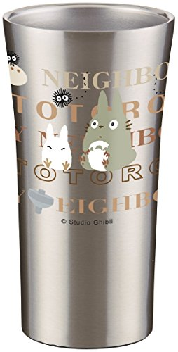 Skater Stainless Tumbler 300Ml My Neighbor Totoro Typography Studio Ghibl Jp F/S