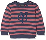 Marc O' Polo Kids Baby-Jungen Sweatshirt 1/1 Arm, Mehrfarbig (Y/D Stripe|Multicolored 0001), 74