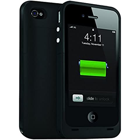 Custodia per batteria per iPhone 4, estende l'alimentazione di backup,