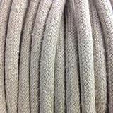 Fil électrique tissu Lin Beige 3 fils 3x1.5mm2