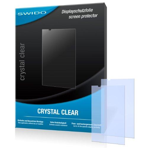 SWIDO Bildschirmschutz für HTC Desire 816 [4 Stück] Kristall-Klar, Hoher Härtegrad, Schutz vor Öl, Staub & Kratzer/Schutzfolie, Bildschirmschutzfolie, Panzerglas Folie