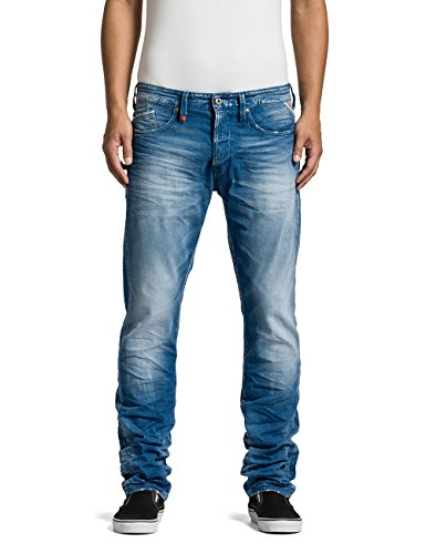 Replay Waitom - Jeans - Droit - Homme Bleu (Blue Denim 10)