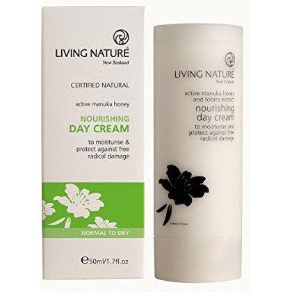 Living Nature Nourishing Day Cream - Nährende Tagescreme
