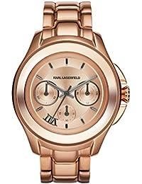 Karl Lagerfeld Unisex-Armbanduhr Chronograph Quarz Edelstahl KL2408