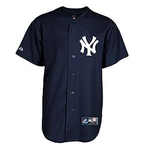 Majestic New York Yankees Cool Base MLB Jersey Alternate