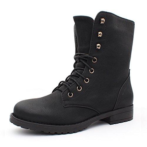 best-boots-bottines-a-lacets-femme-boots-couleur-noir-taille-36