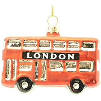 Christmas Decoration  Santa by London Red Bus Christmas Tree