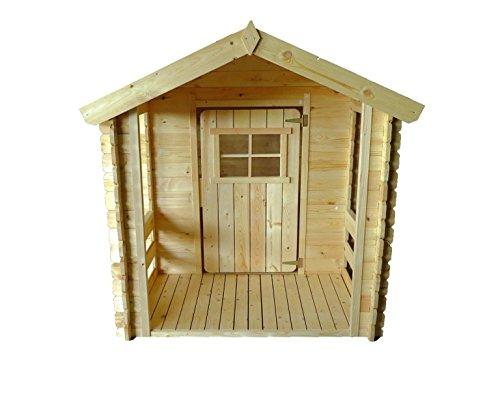 Kokido Casita de madera para niños 175 x 130 x 145 cm