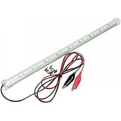 Tira de luces LED MFPower de 50 cm, 12 V, para interior de vehículos.