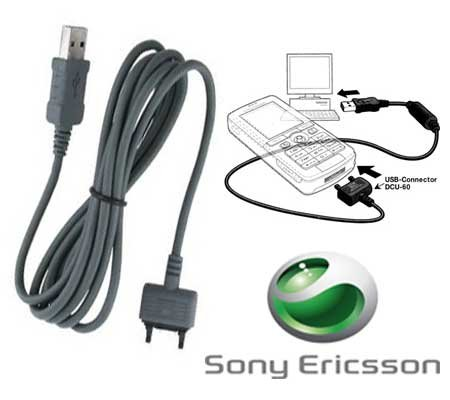 Datenkabel USB DCU-60 D750i | J100i | J110i | J120i | J220i | J230i | K200i | K220i | K310i | K320i | K510i | K530i | K550i | K610i | K750i | K770i | K800i | K810i | K850i | M600i | P1i | P990i | S500i | S600i | T250i | T650i etc (Sony P1i)