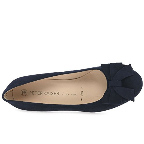 Peter Kaiser Christiane Womens Dress Scarpe Décolleté Camoscio Blu Marino (Notte)