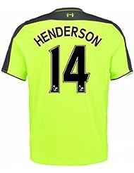 2016-17 Liverpool 3rd Shirt (Henderson 14)