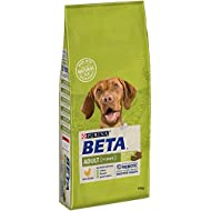 Beta Adult Dry Dog Food with Chicken, 14 kg