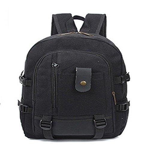 gli studenti della scuola superiore di borsa, nuovo stile scuola vento, borsa borsa da viaggio, uomini 'una tela.,black black