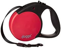 Idea Regalo - GoDogGo Doggo Everyday Retrattile Cane guinzaglio con Impugnatura Morbida