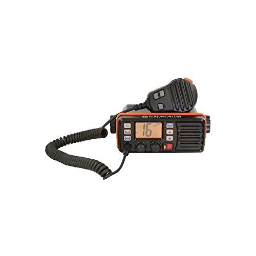 Orangemarine Radio VHF Fissa wp150, Nero/Arancione