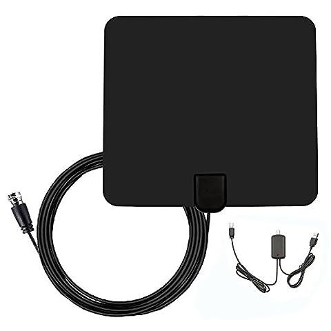 DVB-T Antenne, HDTV Fernseher-Antenne, DVB-T / DVB-T2 Digitale Antenne HDTV