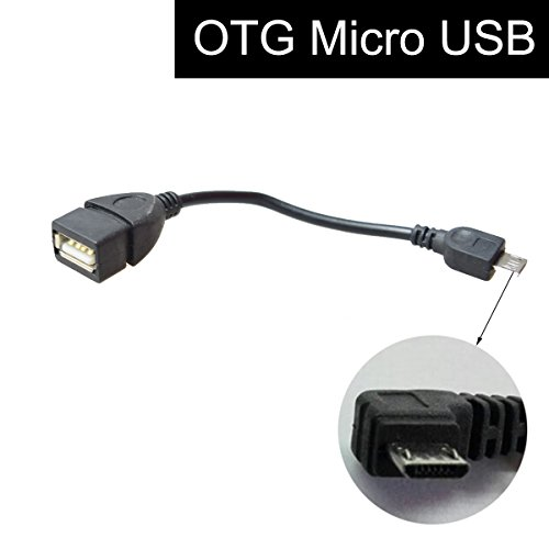 Preisvergleich Produktbild Cocar On-The-Go Kabel USB Micro Stecker auf USB-Buchse MICRO USB CONNECTOR TO 2.0 JACK ADAPTERKABEL Mobile Telefon Autonavigation Host Handy
