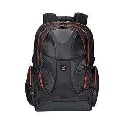 Asus ROG Nomad V2 Notebook-Rucksack (17 Zoll, gepolstert, wasserfest, Ballistic Nylon) schwarz