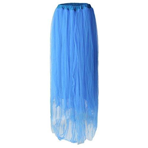 Sharplace Schwangerschafts Kleid Organza Fotografie Rock Tüllrock Unterrock Schwangere Frauen Fotoshooting Requisiten - hellblau, wie beschrieben