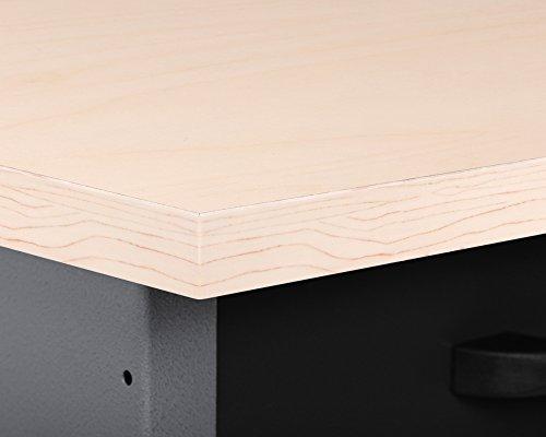Ondis24 Werkbank Werktisch Montagewerkbank Werkstatttisch Schubladenschrank, 60 cm breit mit 4 rollengeführten Schubläden - 6