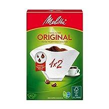Melitta Original 1 x 2 Coffee Filters - 40 Filters