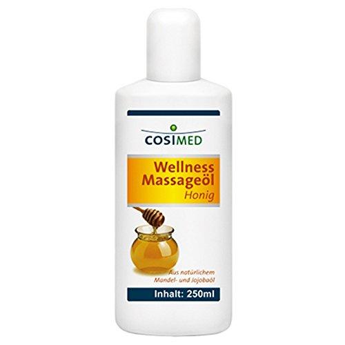 CosiMed Wellness Massageöl Honig, 1er Pack (1 x 250 ml) - Honig-massage