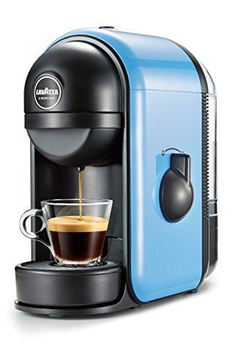 espresso padmaschine Lavazza Minù freistehend manuell Maschine in Kaffee Kapseln 0.5L Blau Espressokocher (freistehend, Maschine in Kaffee Kapseln, blau, Acrylnitril-Butadien-Styrol (ABS), Kunststoff, Knöpfe, 0,5l