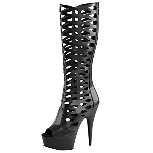 Heels-Perfect - Stivali platform Donna nero (nero)