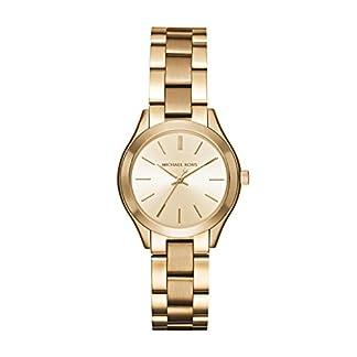 Michael Kors Reloj Analógico para Mujer de Cuarzo con Correa en Acero Inoxidable MK3512