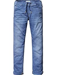 Scotch Shrunk Jungen Jeanshose Relaxed Slim Fit Woven Jogger with Heavy Washing