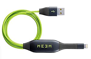 MEEM Memory for iPhone: Automatically Back-Up Onto The Cable & Charge At The Same Time. 32 GB (MFi Approved)