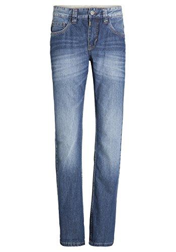 Timezone Herren Straight Jeans Regular Coast Blau (Blaze Blue Wash 3141)